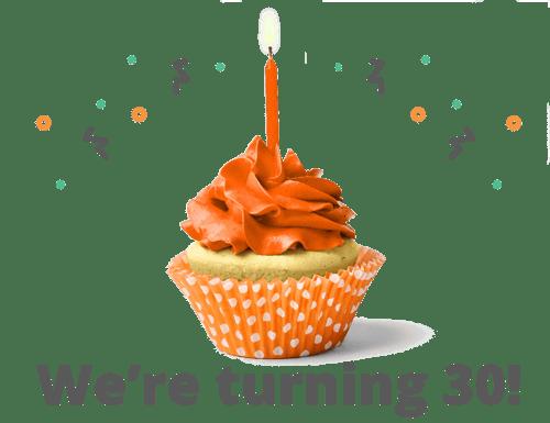 We're turning 30!