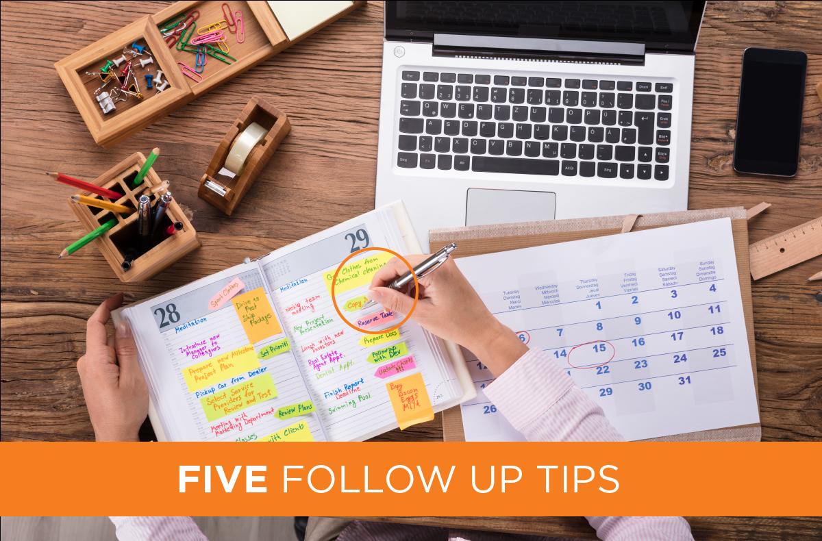 Five-Follow-up-Tips
