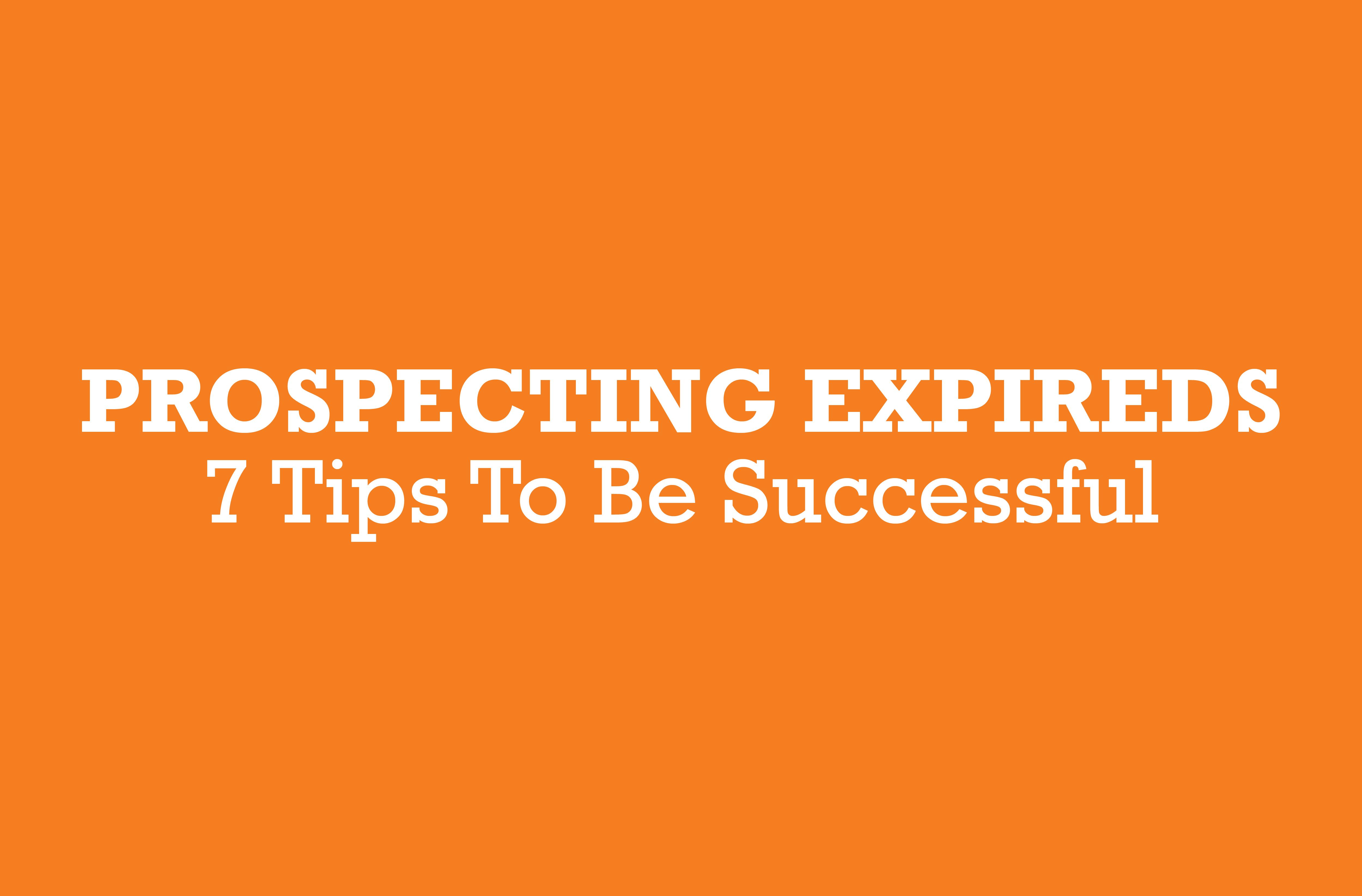 Prospecting-Expireds